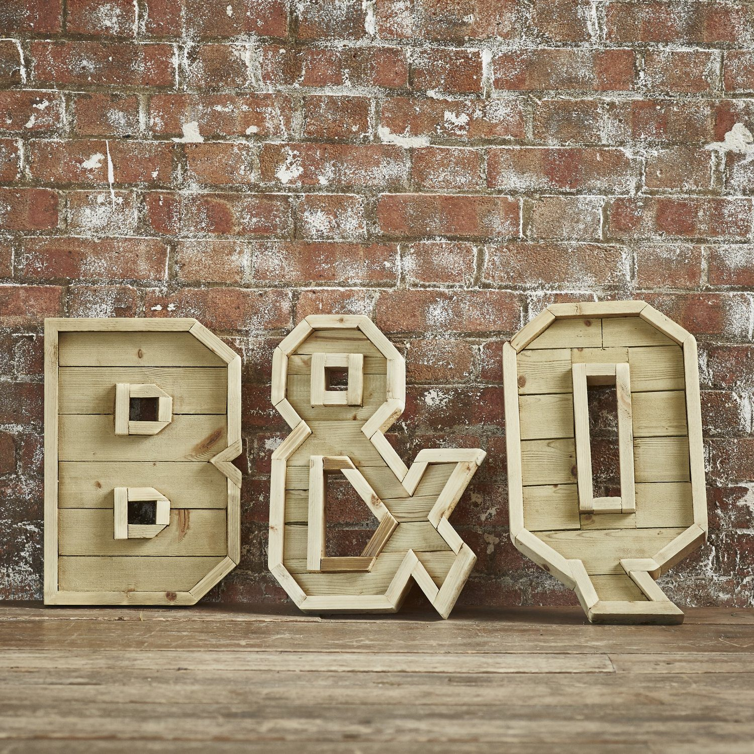 wooden alphabet letters handmade from reclaimed wood
