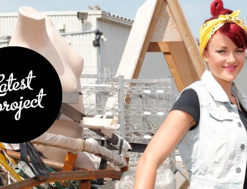 The Salvage Sister is making a workshop from Pallets, junk, trash & freebies!