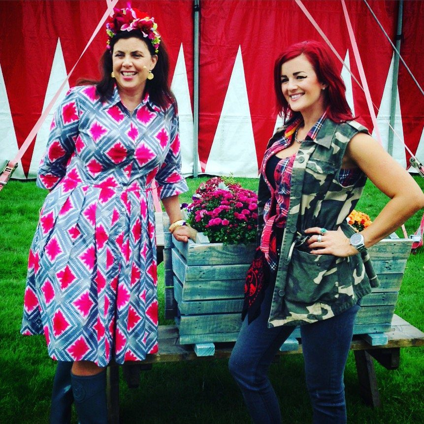 Kirstie-Allsopp-and-Charis-Williams