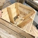 creating planters from pallets workshop class