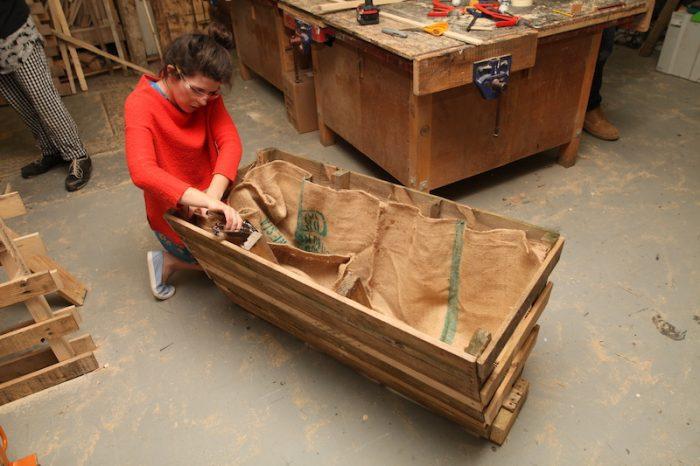 WORKSHOP make a pallet trough