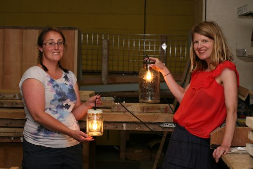 lamp making workshop class