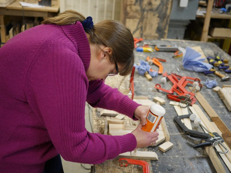 Creative woodwork classes in brighton at The Woodstore