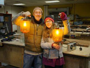 lamp making class in brighton