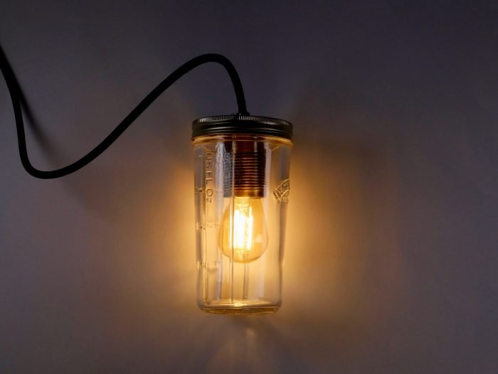 Make any jar into a lamp