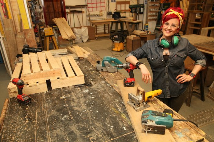 Become a Maker upcycling class in Brighton
