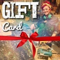 Salvage sister workshop gift cards