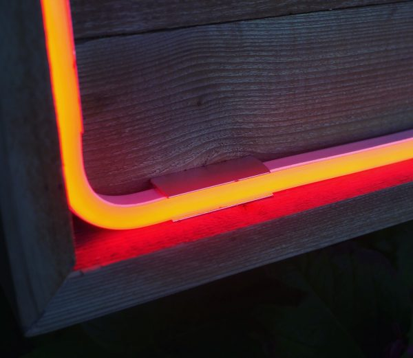 weatherproof extra large wooden neon letters
