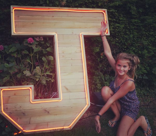 extra large wooden marquee letters