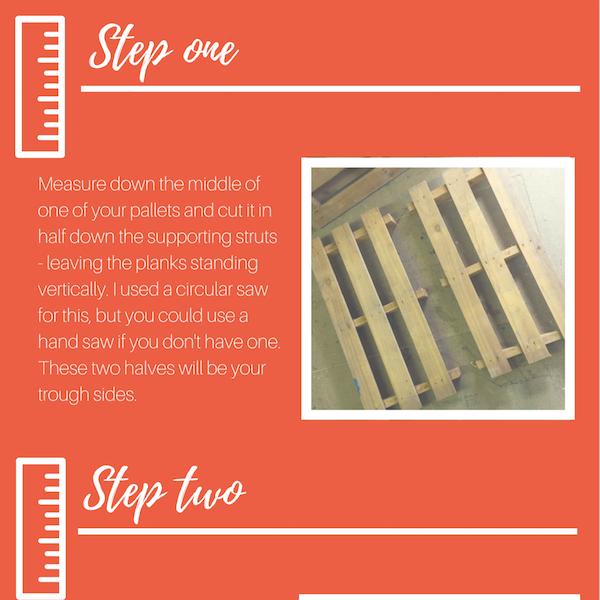 make a pallet planter instructions