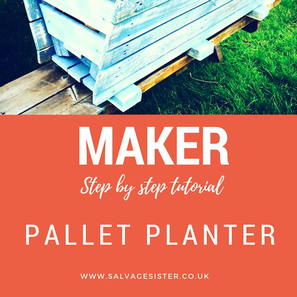 Pallet planter tutorial