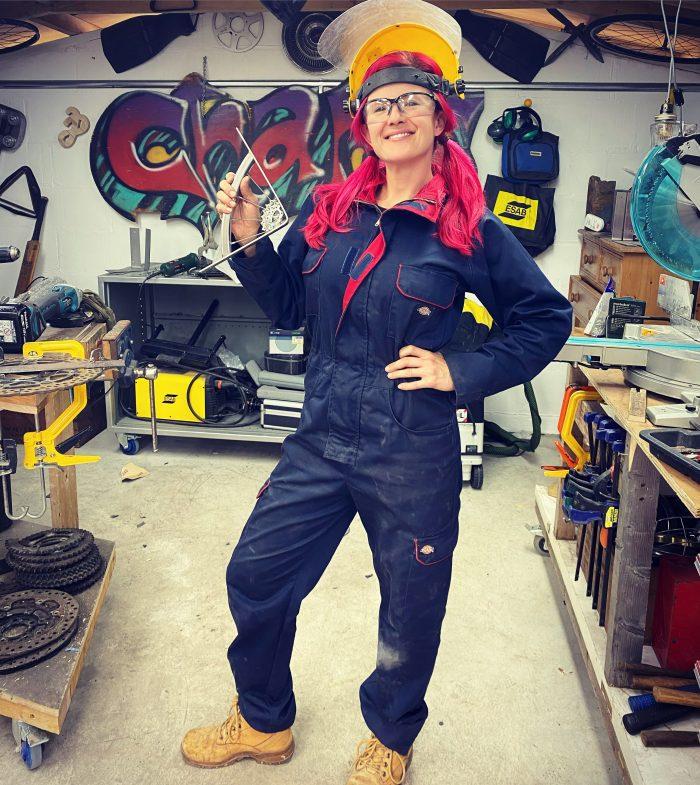 Artist, designer fabricator specialising in the reuse of salvage materials