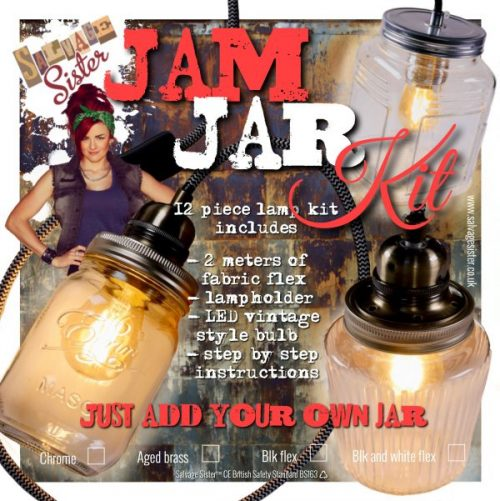 jam jar lamp kit