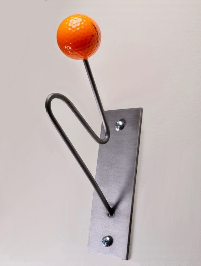 orange golf lovers coat hooks