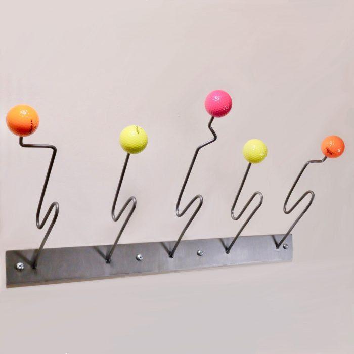 Eames inspired designer coat rack