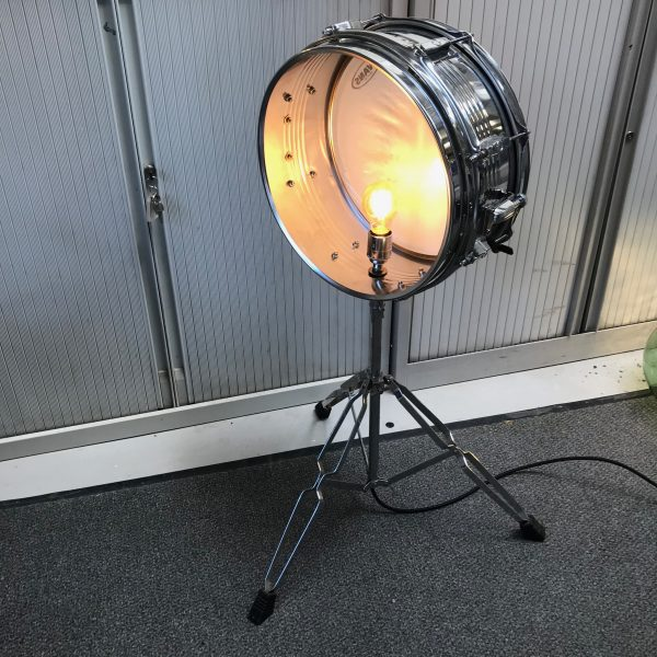 upcycled drum light