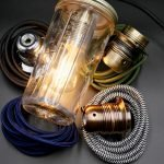 antique style upcycle jam jar lamps