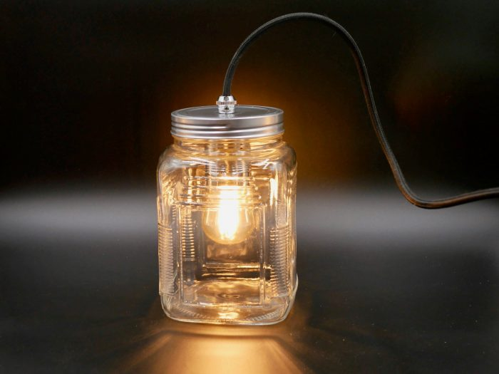 How to make a jam jar lamp easily