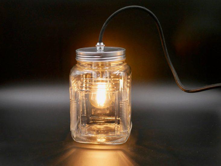 How to make a jam jar lamp easily