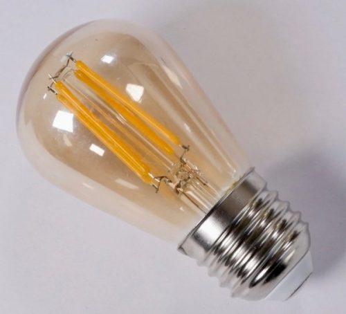 ST45 E27 LED vintage style bulb