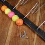 golf ball coat and hat rack