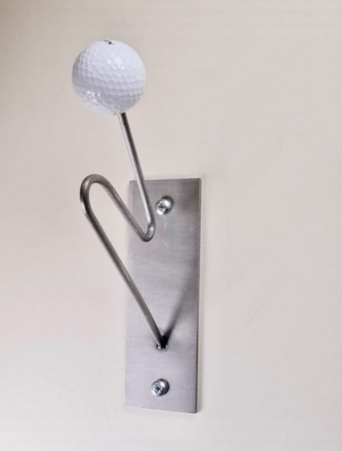 steel Coat and hat hooks