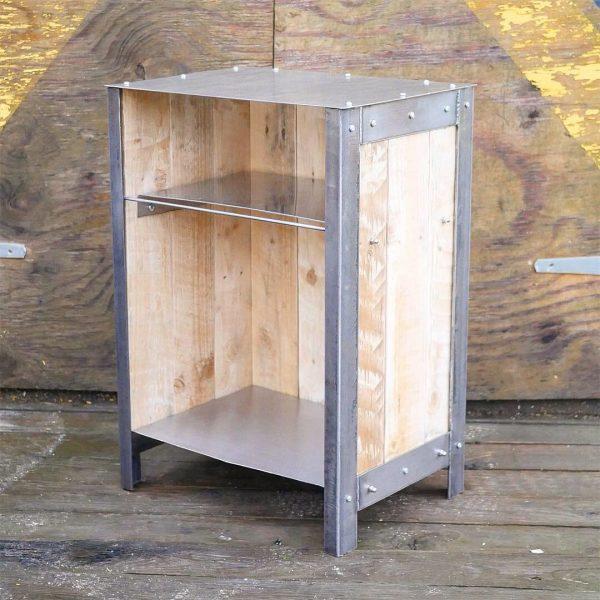 industrial style furniture wood & steel