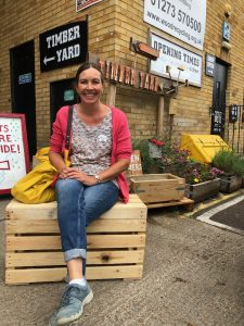 make a piece of furniture from pallets