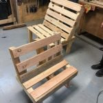 adult and child pallet bench made in one day