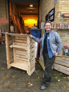 How I made a coal store from pallets