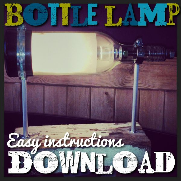 How to make a Lamp in a bottle