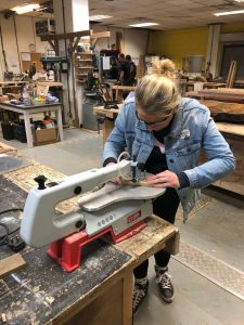 how to use a scrollsaw to create art