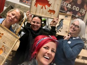 Crafting anf upcycling workshops in Brighton